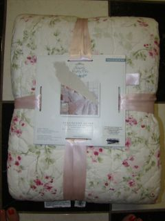Simply Shabby Chic Cherry Blossom Full Queen Quilt Coverlet