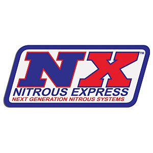 Nitrous Express 15995 Large Bumper Sticker