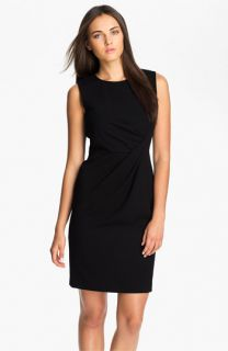 Calvin Klein Drape Waist Sheath Dress