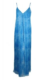 Alice Olivia Womens Silk Sleeveless Maxi Dress $495 New