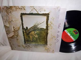 LED Zeppelin IV 4 Zoso SD 19129 Columbia House Club Issue LP