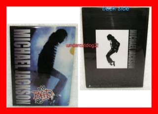Michael Jackson Bad 25 Taiwan Promo Folder Clearfile
