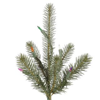 Spruce Multi Color Stay Lit Light PE Christmas Tree Prelit Colf