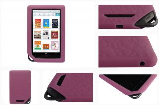 For Barnes Noble Nook Color WiFi Tablet Soft Silicone Skin Cover Case