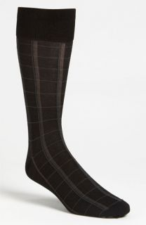 Calibrate Shadow Plaid Socks