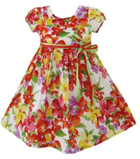 Flower Sundress Party Halloween Kids Clothes Size 2 10 New