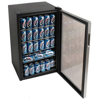 Door Display Cooler Free Standing Mini Refrigerator Fridge Unit