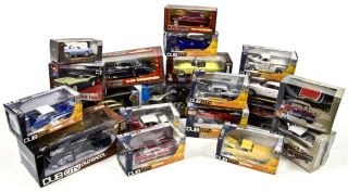 Lot of Collectible Die Cast Metal Toy Cars & Model Sets Dub City AMT
