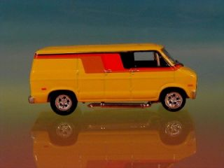 Hot 70s Dodge Conversion Van Super Custom Limited Edition 1 64 Scale