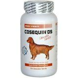 Cosequin DS 120 Chewable Tablets Med LG Dogs 11361