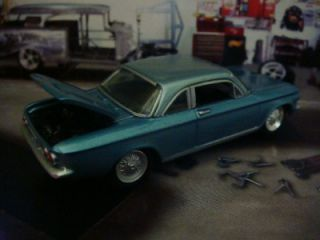 62 Chevy Corvair Monza Coupe 1 64 Scale Limited Edition 4 Detailed