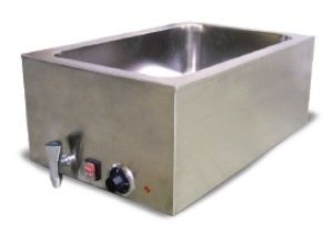 COUNTERTOP FOOD WARMER 1 COMPARTMENT STAINLESS STEEL COMMERCIAL