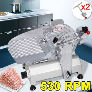 Blade Commercial Electric Slicer Deli Food 240W 530 RPM Cheese Meat