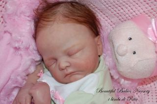 Babies Nursery Reborn Baby Girl Corbin Kit by Donna Lee Sculpt