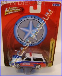 1992 92 GMC Typhoon Police Cop Car Johnny Lightning JL Tomy Forever