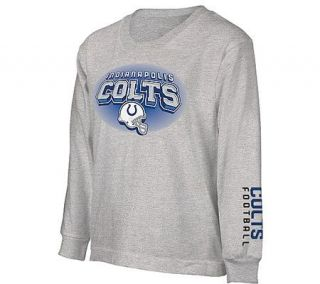 NFL Indianapolis Colts Boys Complex Long SleeveT Shirt —