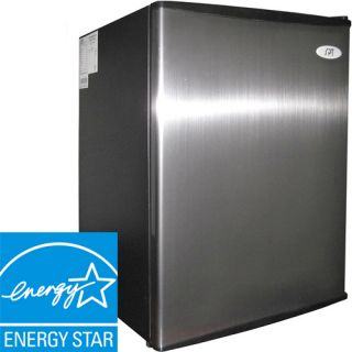 Mini Stainless Steel Refrigerator New Compact Fridge 189707110318