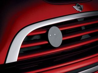 MINI COOPER CLUBMAN COUNTRYMAN GRILLE BADGE HOLDER FOR COOPER S OR W