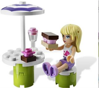 LEGO Friends 3930 Stephanies Outdoor Bakery Set NEW IN BOX