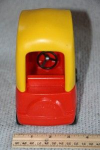 Little Tikes Dollhouse Childs MINI COZY COUPE CAR  red, yellow