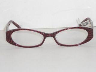 Corinne McCormack Red Multi Claire Womans Reading Glasses 2 00 New