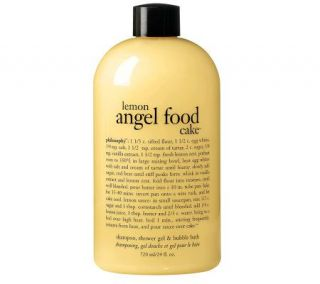 philosophy lemon angel food cake 3 in 1 showergel, 24 oz —