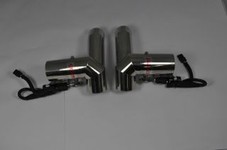 Corsa Performance Exhaust Diverters 7 4 Volvo OMC Cobalt Captains Call