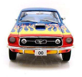 Cooters 1968 Ford Mustang 00 Dukes of Hazzard 1 18 Johnny Lightning