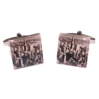 New York City Skyline Cufflinks in Gift Box