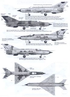 Berna Decals 1 48 Mikoyan MIG 21 Fishbed Fighter African Air Forces