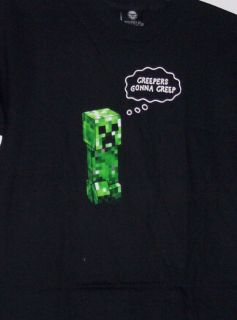 Jinx Minecraft Creepers Gonna Creep Premium Youth Tee Shirt