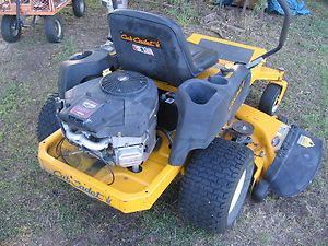 Cub Cadet Zero Turn Riding Lawn Mower with 50 Deck 22 HP Briggs Intek