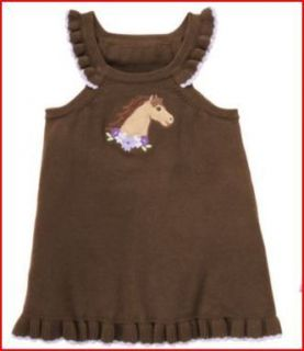 Gymboree Girl Cowgirls at Heart Horse Jumper Dress