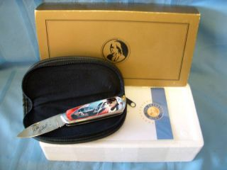 Franklin Mint NASCAR Dale Earnhardt 3 Collectors Knife New