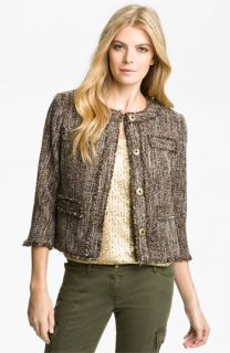 MICHAEL Michael Kors Tweed Knit Jacket