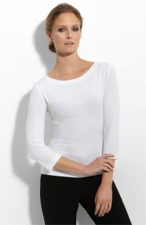 St. John Collection Sequin Jersey Top