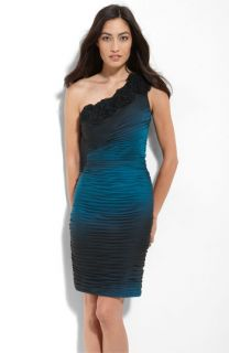 Adrianna Papell Ombré Chiffon Sheath Dress