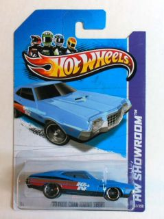 HOT WHEELS 2013 #242 HW SHOWROOM 72 FORD GRAN TORINO SPORT MINT ON