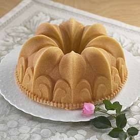 Flower of The Lily Nonstick Bundt Cake Pan Mold Form