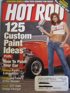 Hot Rod Magazine April 04 125 Custom Paint Ideas