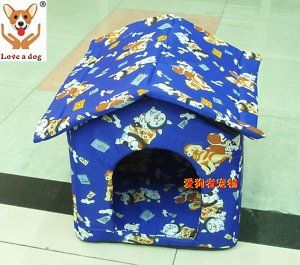 New Soft Warm Indoor Pet Dog Cat House Tent Collapsible