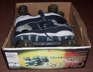 Cruisers Indoor Outdoor Skates Mens Size 8 Womens Size 9