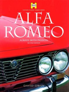 alfa romeo always with passion by david owen