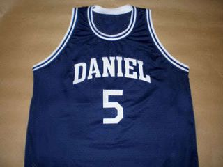 Pete Maravich Daniel High School Jersey Blue New Any Size DZE