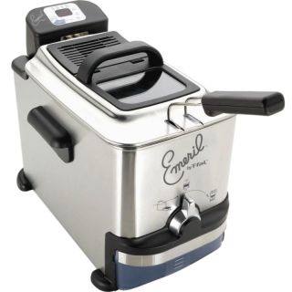 Fal Home Electric Deep Fryer, Emerilware Stainless Steel FR7009001