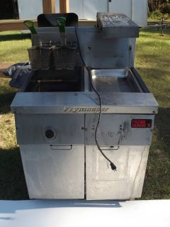 FryMaster gas, deep fat Fish Fryer, 31.5 wide, local pickup, Florida