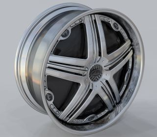 New Davin Dub Spinners Heat 24 5x120 5x127 Rims Wheels Chrome Impala
