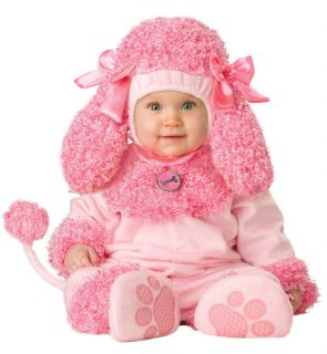 New Pink Poodle Halloween Costume Toddler Baby Girls