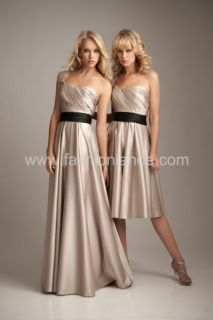 Formal Wedding Bridal Bridesmaid Dress New Evening Gown Prom Dress Deb