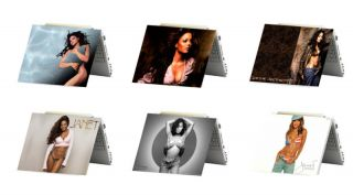 Janet Jackson Laptop Netbook Skin Decal Cover Sticker
